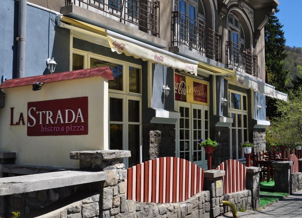 La Strada – bistro & pizza, Sinaia