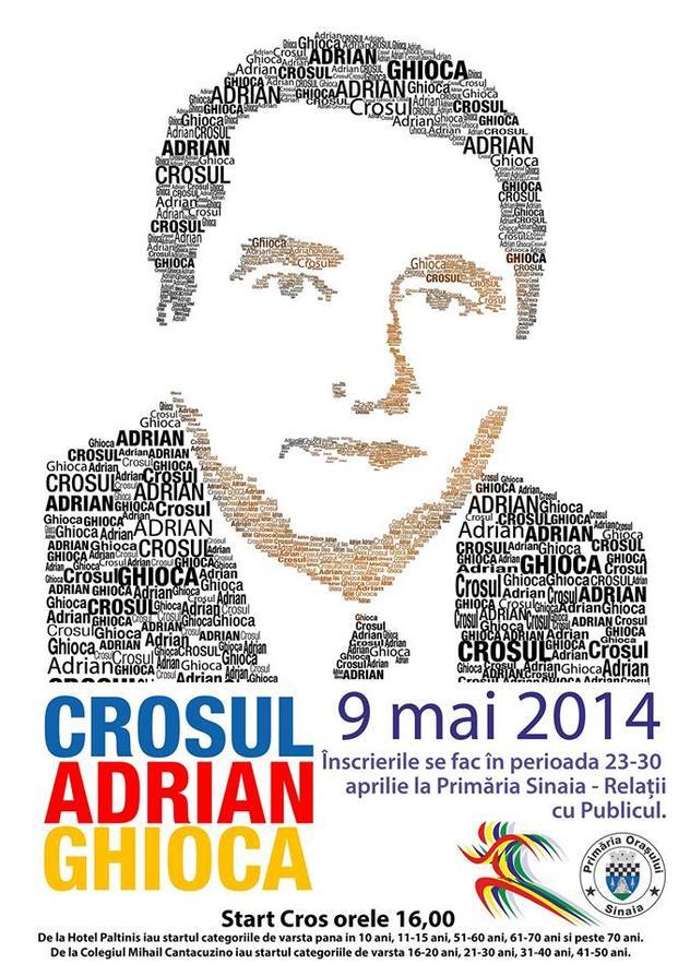 Crosul Adrian Ghioca, 9 Mai 2014, ora 16