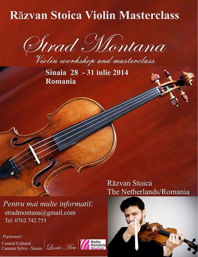 Masterclass cu violonistul Răzvan Stoica