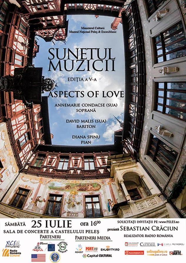 """Stagiunea """"Sunetul muzicii"""" de la Castelul Peleş, ediția a V-a, continuă la Sinaia cu o manifestare româno-americană"""