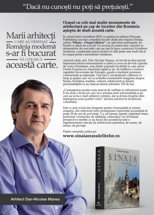 Arhitectul Dan-Nicolae Manea
