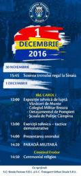 Ziua tuturor Românilor – 1 Decembrie, sărbătorită la Sinaia!