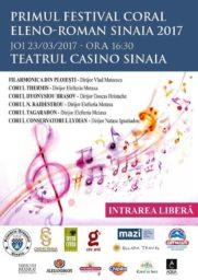 Primul Festival Coral dedicat relațiilor Eleno-Române la Sinaia