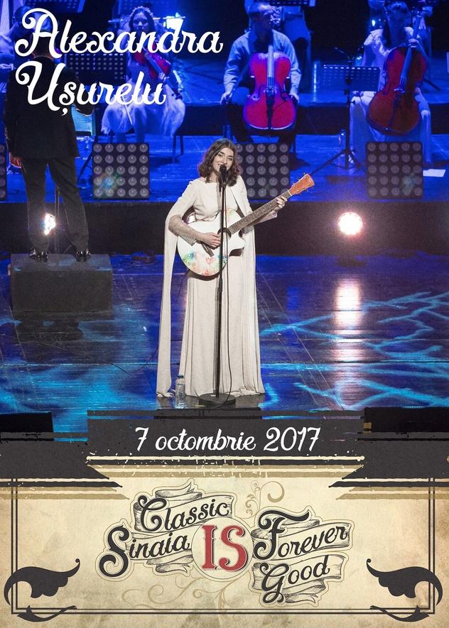 Festivalul Sinaia Forever 2017 (Concert Alexandra Usurelu)