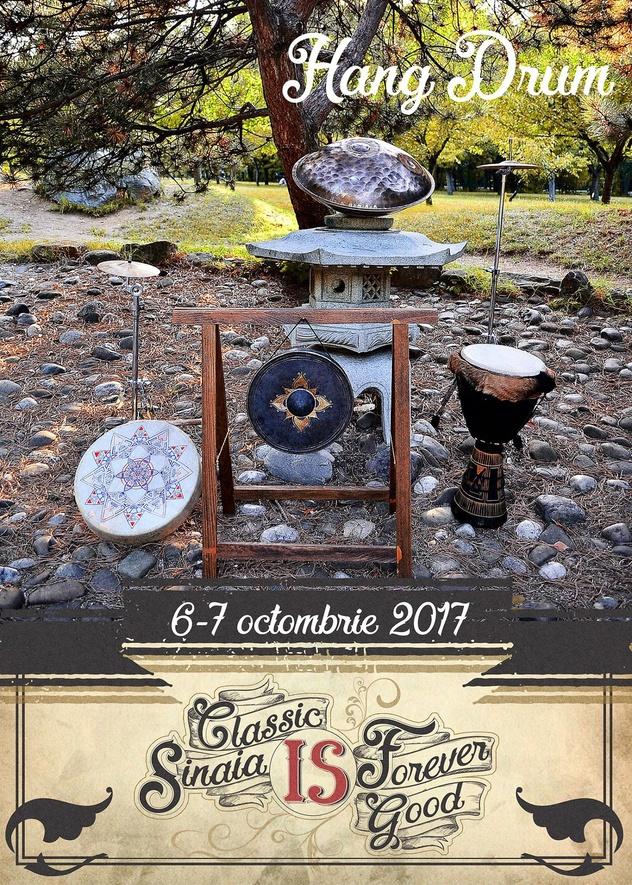 Festivalul Sinaia Forever 2017 (Hang Drum)