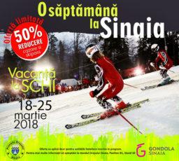 O saptamana la schi in Sinaia