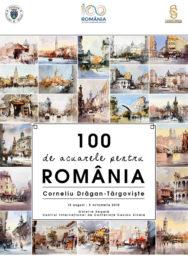 O suta de acuarele pentru Romania