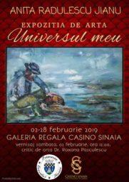 """Expozitia de pictura """"Universul meu"""", sub semnatura artistei Anita Radulescu-Jianu"""