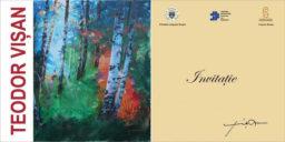 """Expoziția de pictură """"Suflet și culoare"""", sub semnătura artistului Teodor Vișan"""