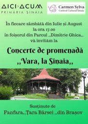 Concerte de Promenadă în Sinaia