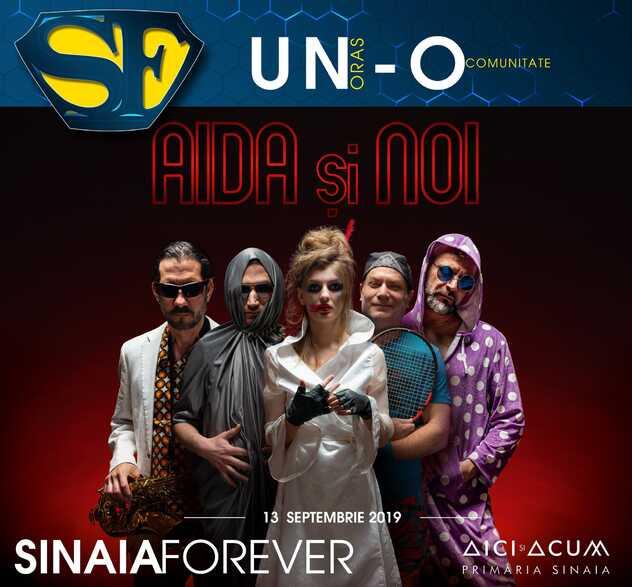 Aida și Noi la Festivalul Sinaia Forever 2019