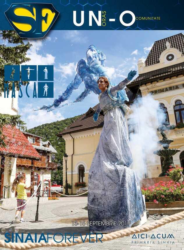 Arta si Teatru la Festivalul Sinaia Forever 2019