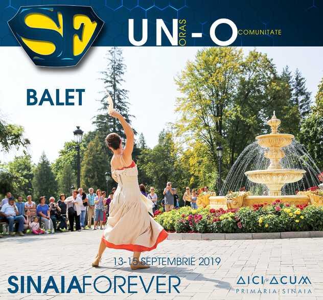 Balet la Festivalul Sinaia Forever 2019