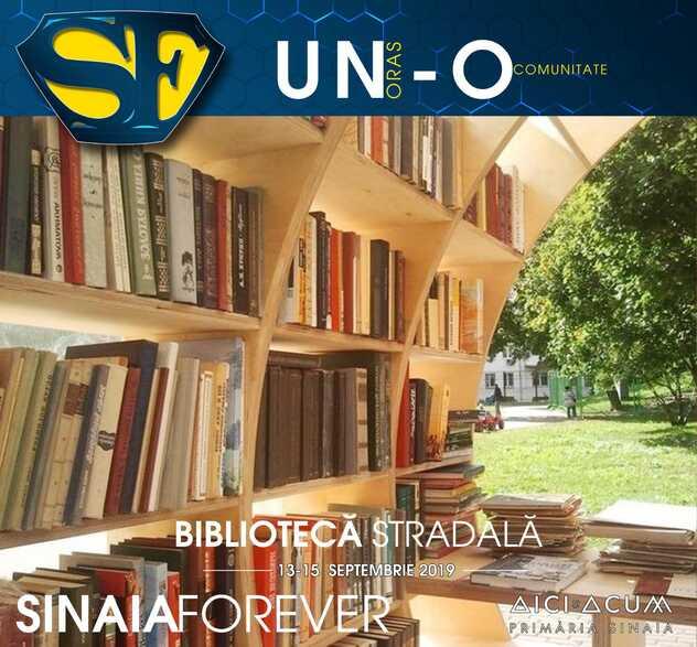 Biblioteca Stradala la Festivalul Sinaia Forever 2019