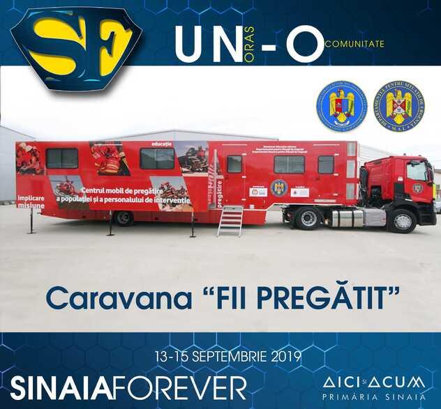 Caravana Fii Pregatit la Festivalul Sinaia Forever 2019
