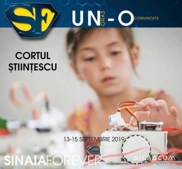 Cortul Științescu la Festivalul Sinaia Forever 2019