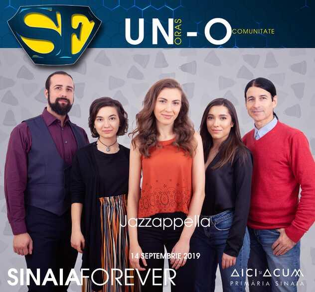 Jazzappella la Festivalul Sinaia Forever 2019