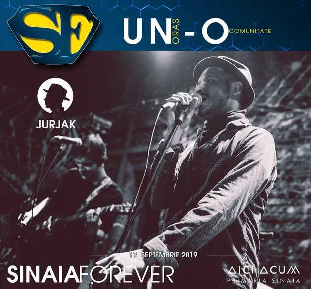 Jurjak la Festivalul Sinaia Forever 2019