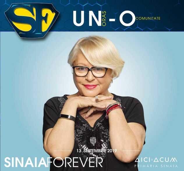 Mirabela Dauer la Festivalul Sinaia Forever 2019
