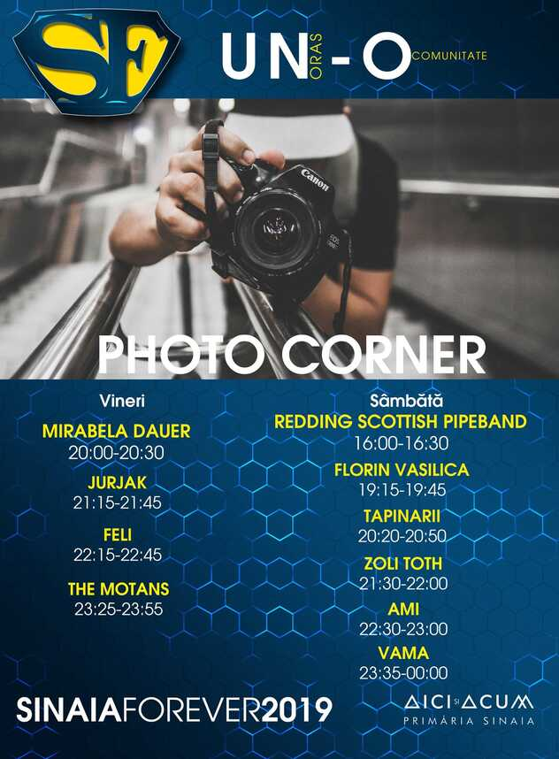 Photo Corner la Festivalul Sinaia Forever 2019