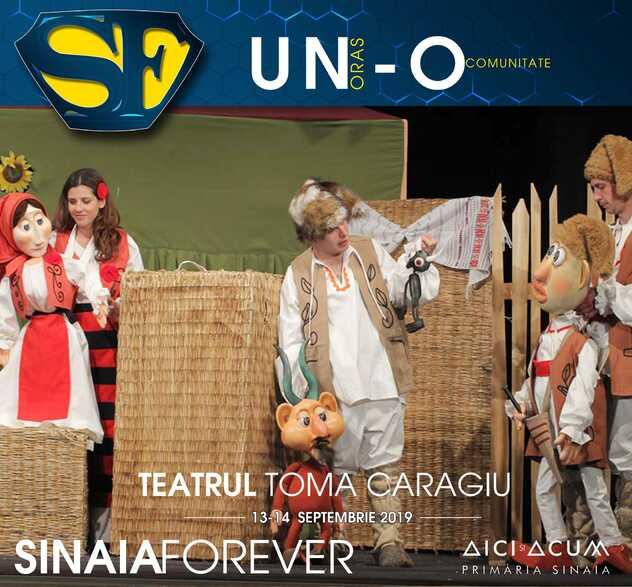 Teatrul Toma Caragiu la Festivalul Sinaia Forever 2019