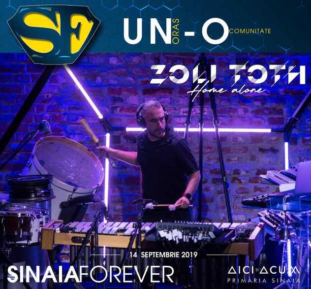 Zoli Toth la Festivalul Sinaia Forever 2019