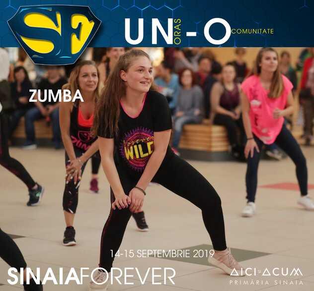 Zumba la Festivalul Sinaia Forever 2019