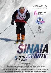 """Cupa de schi alpin """"Sinaia pe partie 2020"""""""